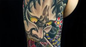 hannya-musk tattoo shop bangkok