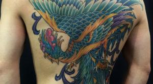 phoenix-houou stroker tattoo