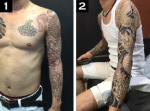 How Long Does It Take to Get a Sleeve Tattoo?1-2