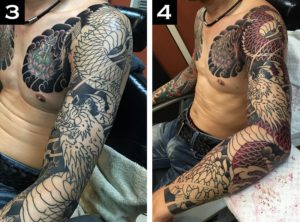 How Long Does It Take to Get a Sleeve Tattoo?3-4