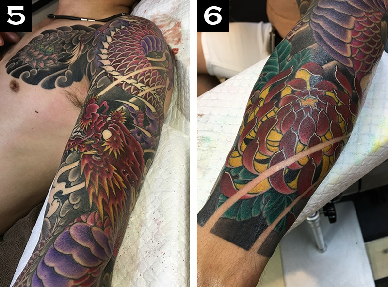 How Long Does It Take to Get a Sleeve Tattoo?5-6