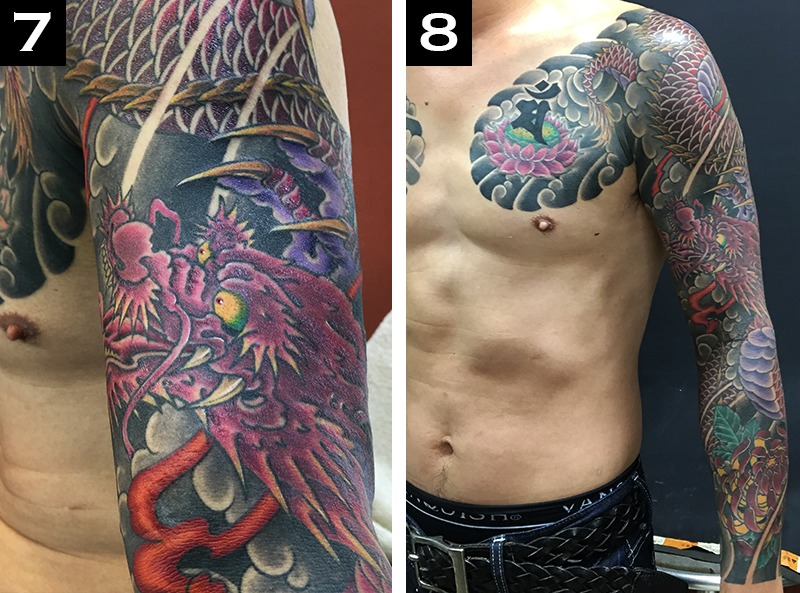 How Long Does It Take to Get a Sleeve Tattoo?7-8