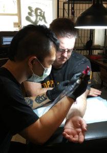 stroker tattoo studio bangkok toss