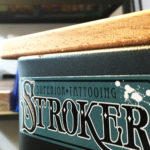 stroker tattoo studio sticker