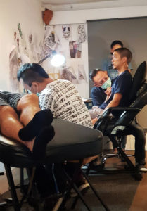 stroker tattoo studio bangkok tattooer