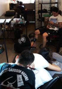 stroker tattoo studio bangkok tattooers
