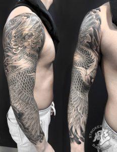 Full sleeve irezumi